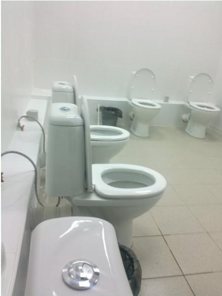 russian toilets